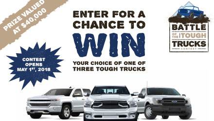 Battle of the Tough Trucks Contest